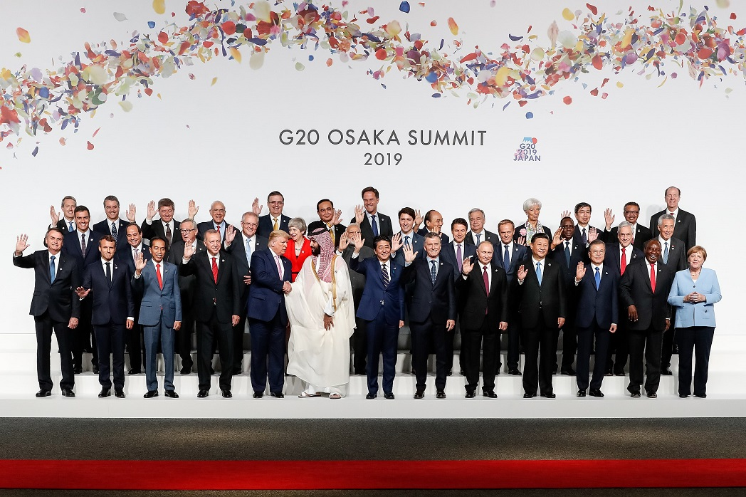 World leaders at the 2019 G20 summit